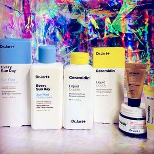 Dr. Jart + lot every Sun Day spf & Ceramidin fluid